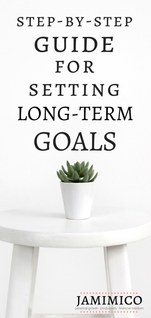 Step-By-Step Guide for Setting Long-Term Goals