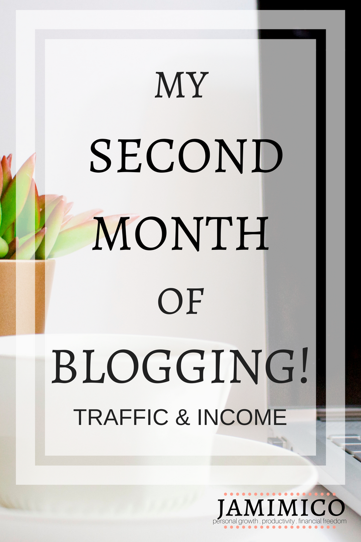 My Second Month of Blogging!