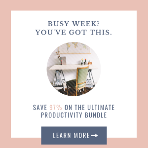 Ultimate Productivity Bundle 3